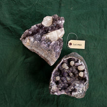 Load image into Gallery viewer, Cut Base Amethyst Druze Specimen, 2 pcs, G265