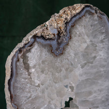 Load image into Gallery viewer, Oversized Agate on Stand, G274