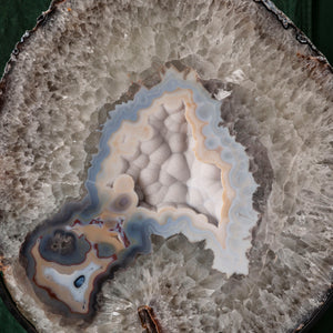 Oversized Agate on Stand, G276