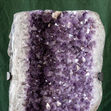 Load image into Gallery viewer, Polished Amethyst Druze on Iron Base, G230