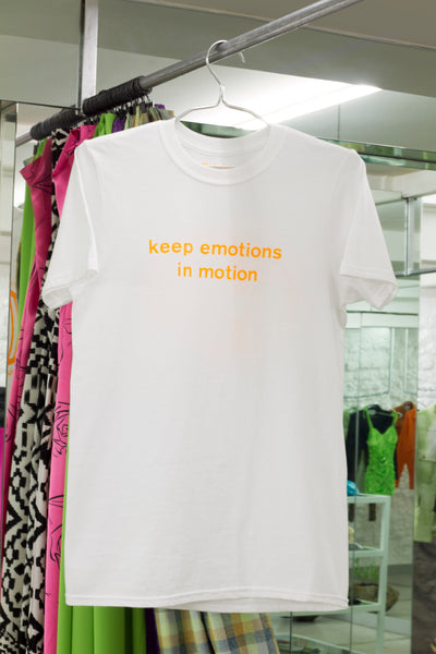 Keep Emotions in Motion Tee