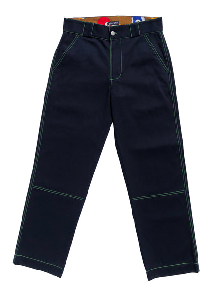 Dark Blue Pool Pants
