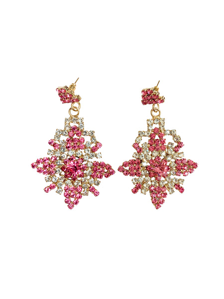 Prehispanic Flower Earrings