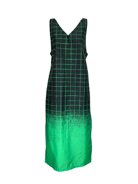 Green-grid Coverall