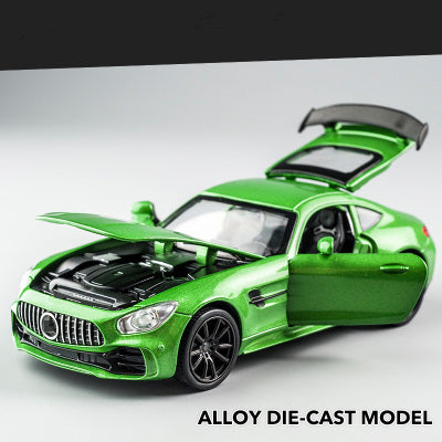*NEW* 1/32 Diecast AMG GTR With Pullback, Sound & Lights