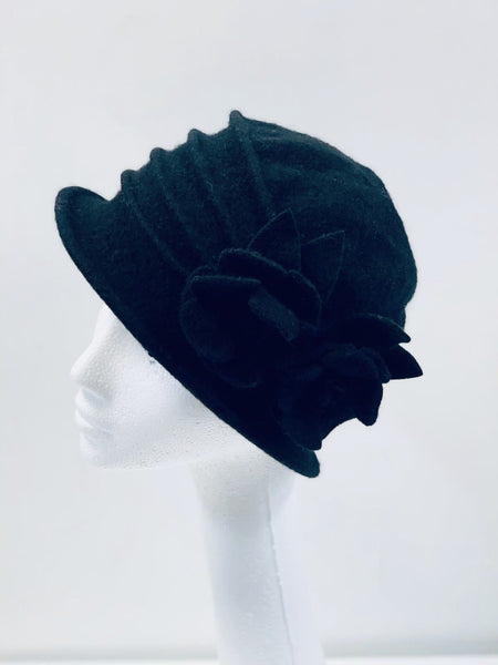 Super Soft Black Bucket Hat