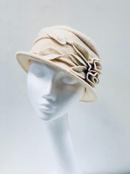 Super Soft Cream Bucket Hat