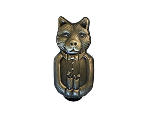 Raised By Wolves Lapel Pin