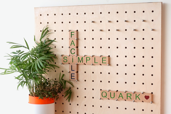 Defining the essentials - Quark - Pegboard - Made in France