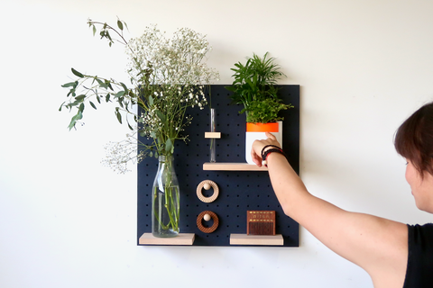 Peg Board - Vegetal - Wall Wood
