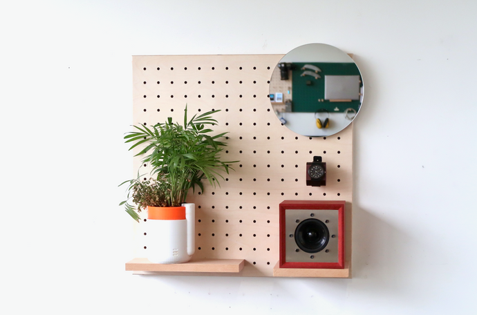 Pegboard - Wood - by Quark