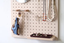 Load image into Gallery viewer, Pegboard - Etagere Murale Modulaire en Bois - Bouleau - Taille 96 cm - Pegboard - Quark - BO96BO - 2