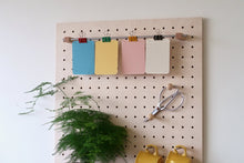 Load image into Gallery viewer, Pegboard - Etagere Murale Modulaire en Bois - Bouleau - Taille 96 cm - Pegboard - Quark - BO96BO - 8