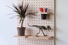 Load image into Gallery viewer, Pegboard - Etagere Murale Modulaire en Bois - Bouleau - Taille 96 cm - Pegboard - Quark - BO96BO - 9