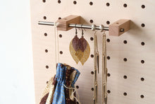 Load image into Gallery viewer, Pegboard - Etagere Murale Modulaire en Bois - Bouleau - Taille 96 cm - Pegboard - Quark - BO96BO-1 - 18