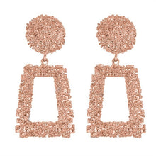 Load image into Gallery viewer, BRONX GLAM Large Ornate Geometric Earrings COLLECTION - Pompous Peacock