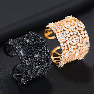 NAYA Luxe Ornate Adjustable Ring - 4 Colours Available! - Pompous Peacock