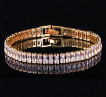 Load image into Gallery viewer, GIGI Luxe Glam Tennis Bracelet - 2 Colours Available! - Pompous Peacock
