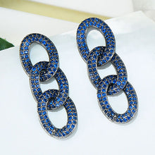 Load image into Gallery viewer, SOPHIE Luxe Chain Link Earrings - 5 Colours! - Pompous Peacock