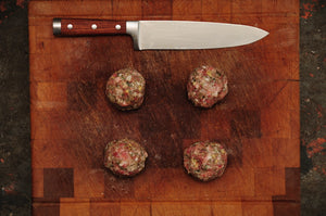 apple bacon meatballs 4 x 100g