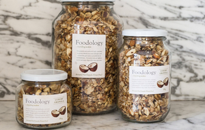 Foodology Activated Nut Granola in glass
