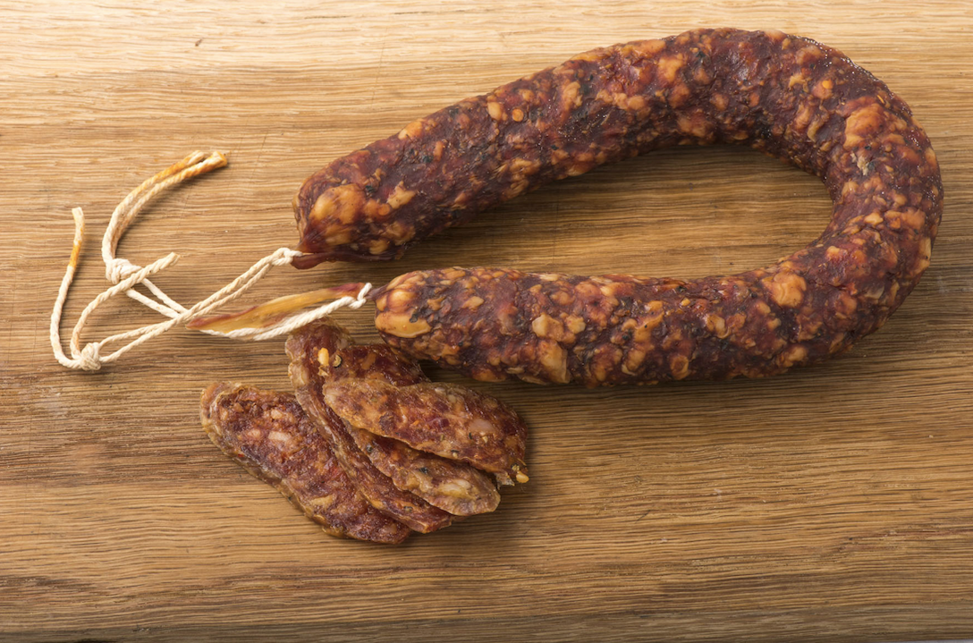 horseshoe cured chorizo