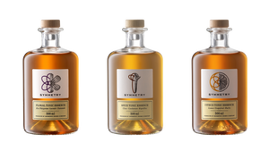 1 x 500ml Symmetry Floral Tonic essence, 1 x 500ml Symmetry Spice Tonic essence, 1 x 500ml Symmetry Citrus Tonic essence