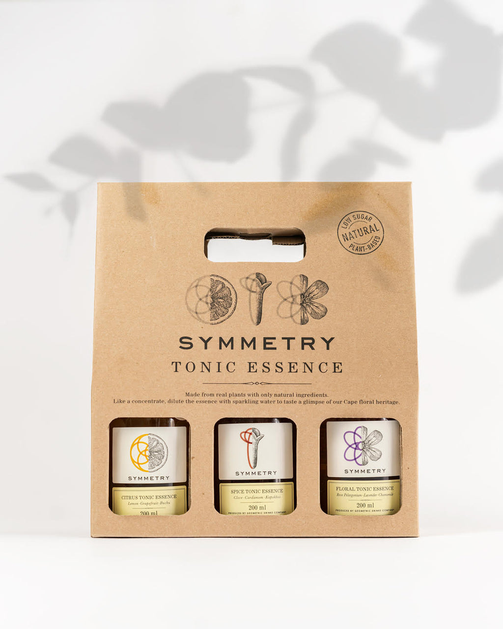 Symmetry botanical giftpack 3 x 200ml