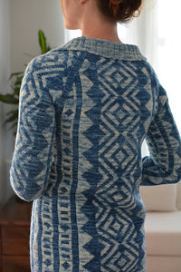 Caitlin Shepherd's Melting Point Cardi