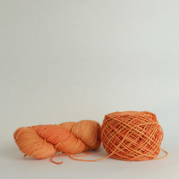 Everlea Worsted - Coral and Orange