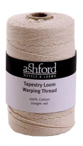 Cotton tapestry warp