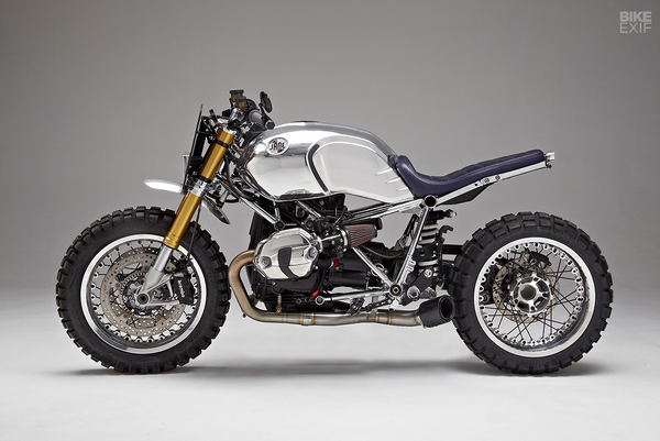 BikeEXIF x JANE Motorcycles custom BMW RnineT