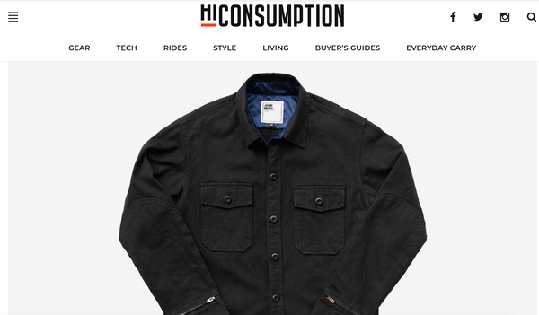 Hi Consumption x JANE Motorcycles Mercer CPO Shirt