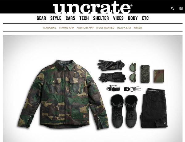 Uncrate X JANE Motorcycles Garb: Exhaust