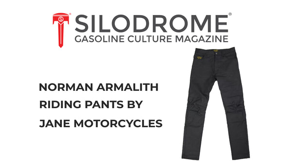 SILODROME X JANE ARMALITH RIDING PANTS