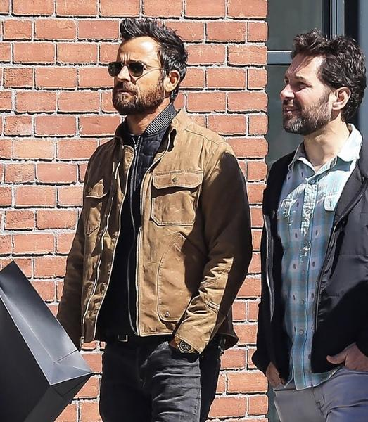Justin Theroux killing it in a JANE Driggs Jacket