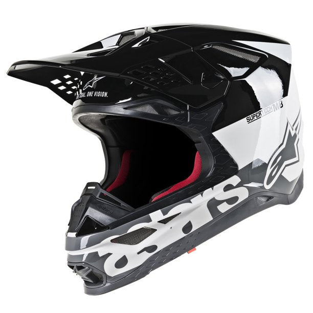 Alpinestars SuperTech M8 Radium WHITE/BLACK/GREY Helmet