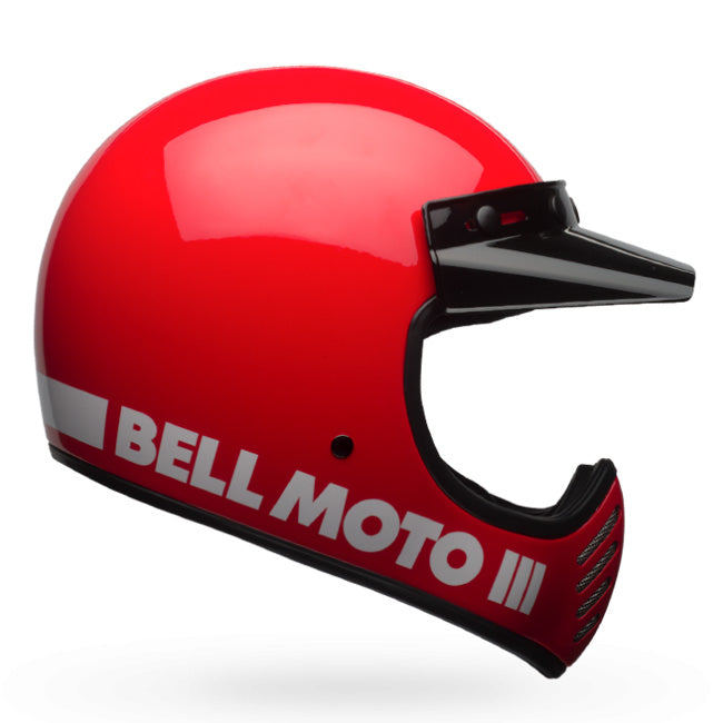 Bell Moto III Classic Red