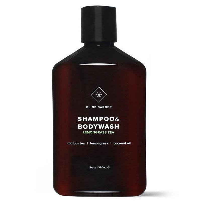 Blind Barber - Lemongrass Tea Shampoo +  Bodywash