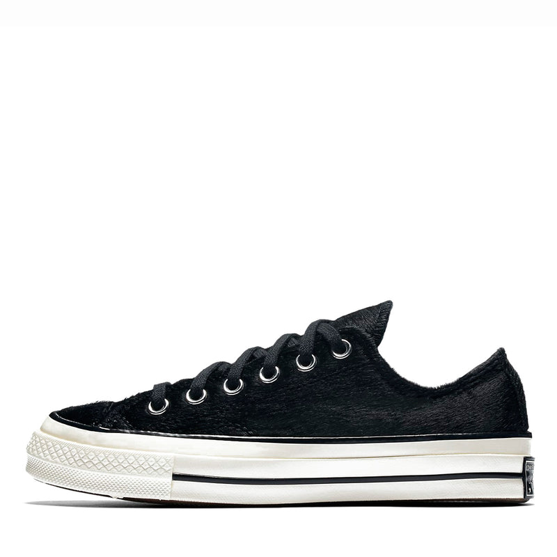 Converse CTAS 70s OX Black Pony Hair