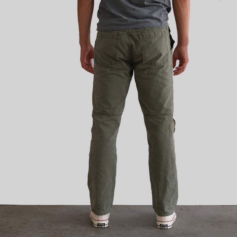 Bedford Double Knee Twill Pant - Olive