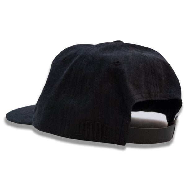 21st Bombardment Herringbone Ball Cap - Black