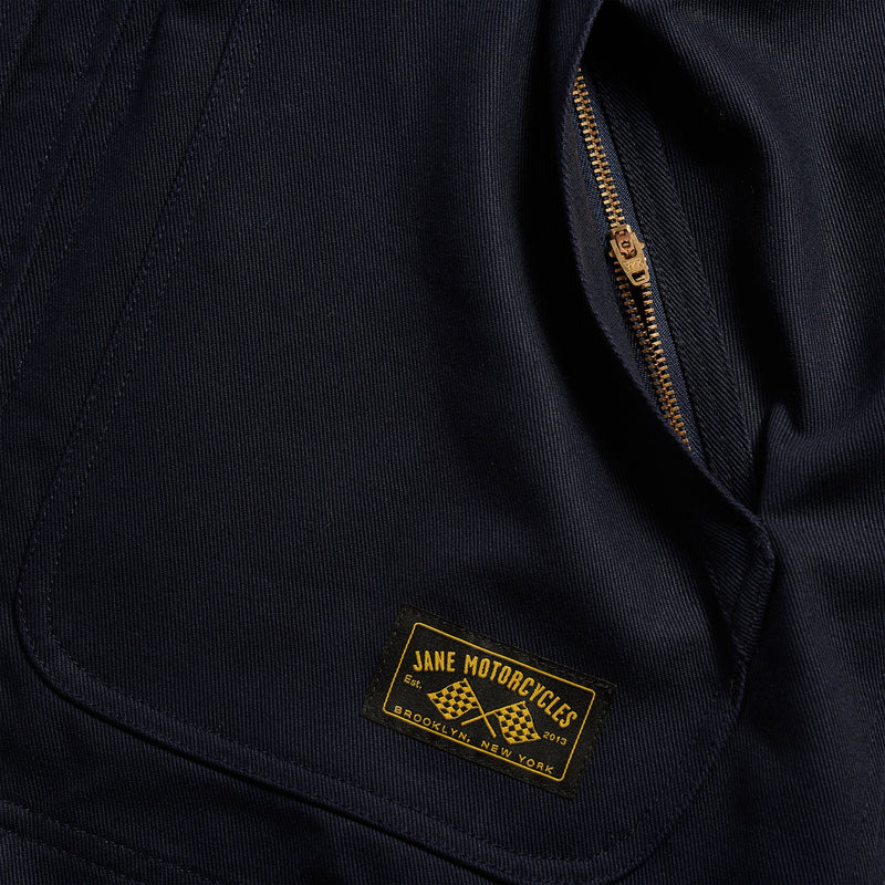 Limited Edition FLYING TIGER Mechanic's Jacket - Navy