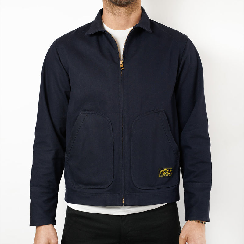Mechanic's Jacket - Navy