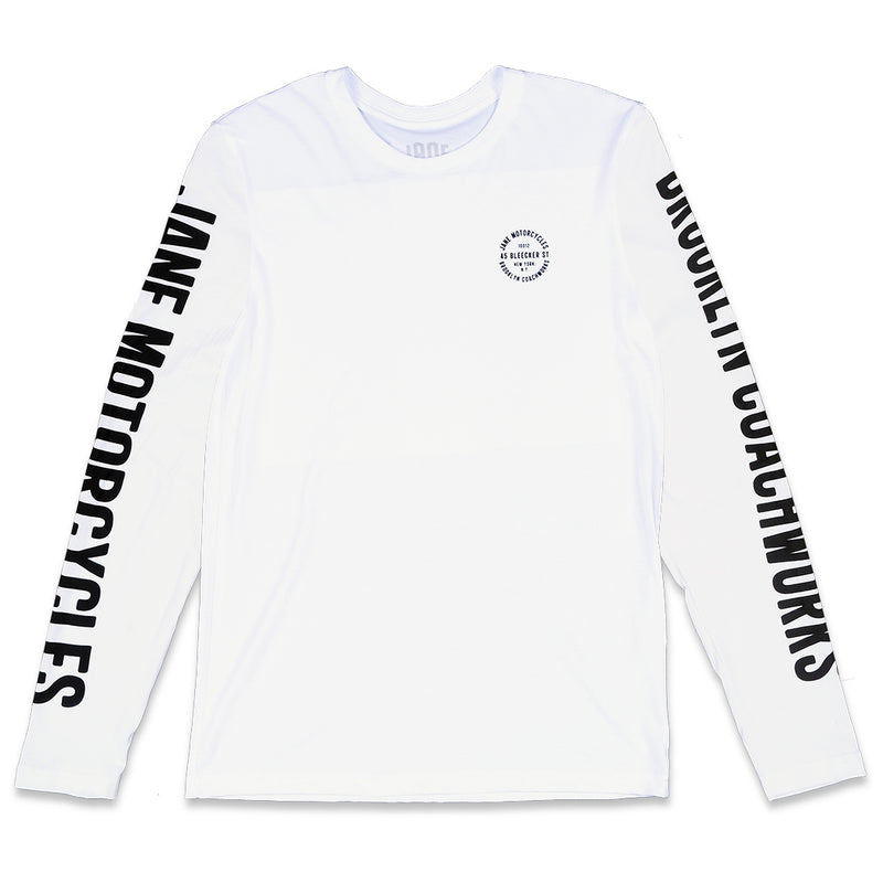 BLEECKER STREET TEE - LONG SLEEVE