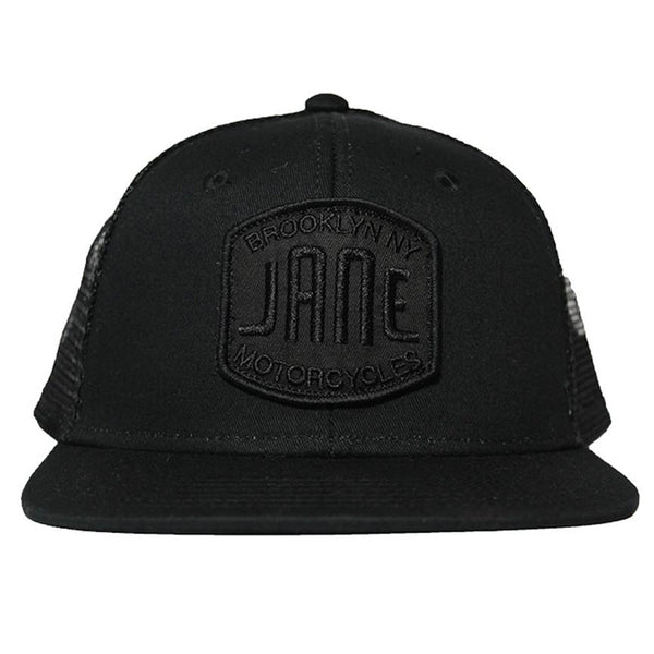 BLACK ON BLACK TRUCKER