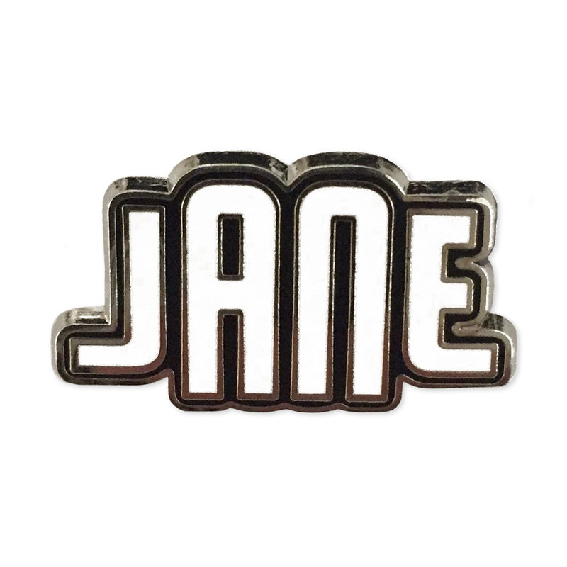 JANE Logo Enamel Pin