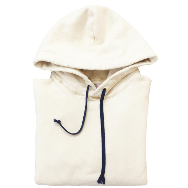 JANE ORGANIC COTTON HOODED SWEATSHIRT - NATURAL