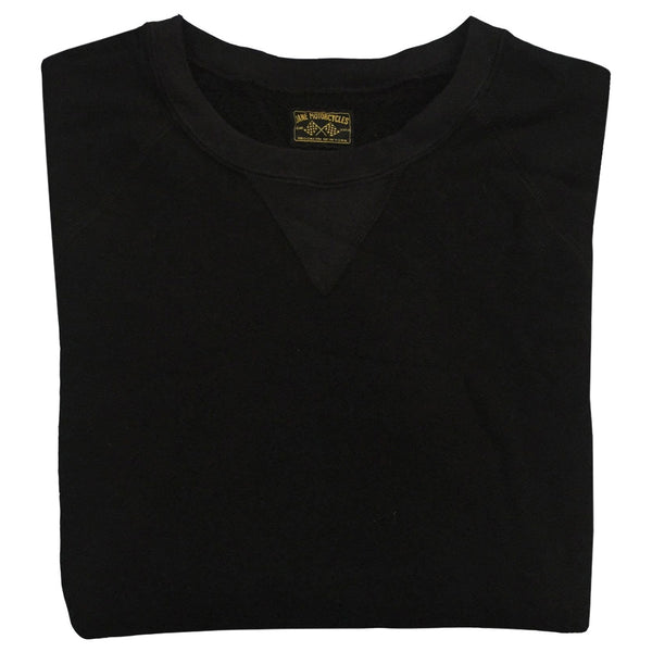 JANE ORGANIC COTTON CREWNECK SWEATSHIRT - FADED BLACK