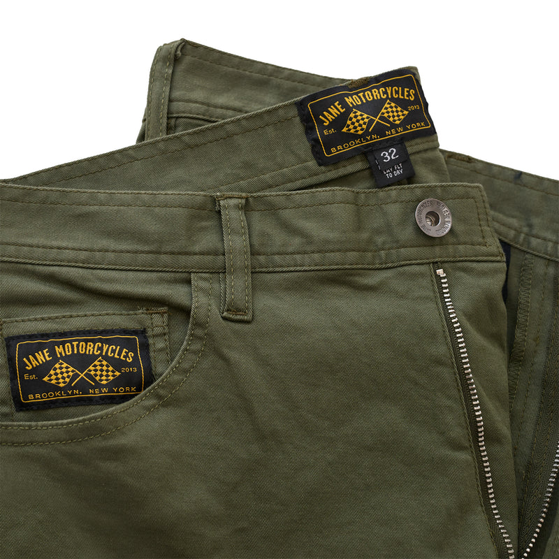 Norman Riding Pants - Olive